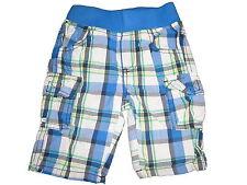 Topolino tolle Shorts Gr. 74 blau kariert !!