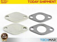 02B EGR valve blanking block plate for Fiat Ducato 2.3 2.5 2.8 TD JTD JTDM