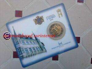 2 Euro CC Coincard BU Luxembourg 2008 - Chateau de Berg