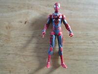 "Marvel Universe 3.75"" SPIDER-MAN Ultra Armor action figure 2010 Hasbro loose"