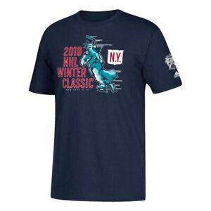 "New York Rangers NHL 2018 Winter Classic ""Lady Liberty"" Men's Navy T-Shirt"
