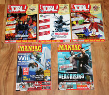 Games Magazine Nintendo Total! Maniac Metal Gear Solid Zelda Twilight Princess