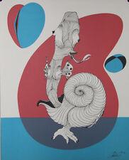 Le Phylactère : Lithographie signée Félix LABISSE