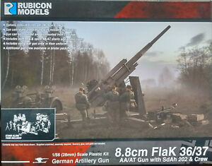 Rubicon 1/56 (28mm)  RB280069 88mm Flak 36/37 Model Kit