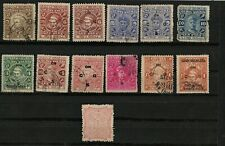 India Feudatory States Assortment - Cochin Anchal & Travancore - 19 Stamps