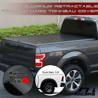 For 2009-2018 Dodge Ram 5.7' Bed Aluminum Retractable Roll-Up Hard Tonneau Cover
