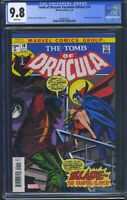 Tomb of Dracula 10 (Marvel) CGC 9.8 White Pages Facsimile Edition Reprint