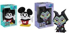 Set 2pcs Disney Maleficent Mickey Mouse Funko Blox Vinyl pop toy Figure new READ