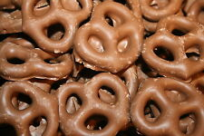 MILK CHOCOLATE PRETZELS, 5LBS