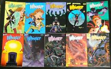 WHISPER FIRST 1986 #1 TO 37 + SPECIAL COMP. VF/NM FEMALE NINJA ACTION!