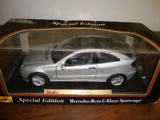 Mercedes-Benz---C-Klasse Sportcoupe---Maisto Special Edition--1:18 Scale Diecast