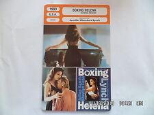 CARTE FICHE CINEMA 1993 BOXING HELENA Julian Sands Sherilyn Fenn Bill Paxton