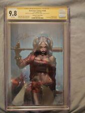 Detective Comics #1000 Jeehyung Lee Virgin Harley Quinn (DC) CGCSS 9.8 3x Signed