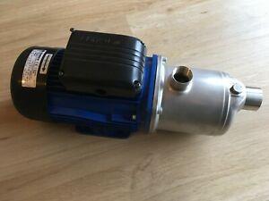 Edelstahl Kreiselpumpe Lowara 1,1kW 400V Hauswasserwerk Trinkwasser - Neuwertig