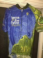 CANARI cycling Jersey Sacramento California American River Pkwy Supporter SZM