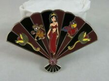 Disney Fantasy Pin - Slave Jasmine - Aladdin - Floral Fan Style - Abu / Iago