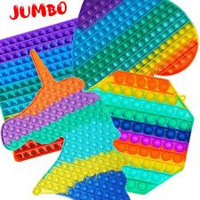 XXL Groß Fidget Toys 30/40cm Simple Dimple Bubble It Stress Relief Sensory Toy