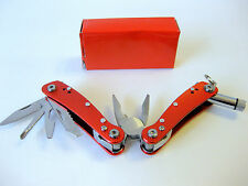 9-in-1 Mini Multi-Tool with Led Light - Red