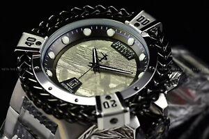 Invicta 53mm Reserve Bolt Hercules Silver Black Automatic Meteorite Dial Watch