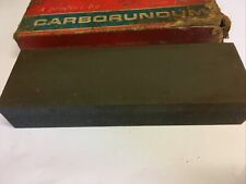 """More details for the carborundum company vintage 2 grade 6"""" oil stone in original box-barely used"""