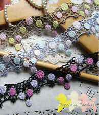 U Choose from 3 Venise Lace Trims All Gorgeous  By The Metre Approx 4cm wide