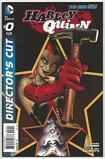 Harley Quinn 0 Directors Cut 1st print hot title series New 52 Batman