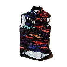 Women's 2019 Rapha Canyon/SRAM Team Cycling Rain Vest, Black, Size XS / 1 EUC