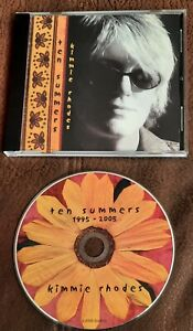 KIMMIE RHODES TEN SUMMERS  2005 CD  COUNTRY FOLK AMERICANA