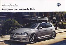 VOLKSWAGEN GOLF VW ACCESSOIRES - CATALOGUE BROCHURE PROSPECTUS 2012 - 62 PAGES