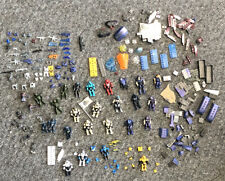 Lot Of Halo Mega Bloks Lego's, Accessories, WEAPONS! ARMOR! Rare's, Bricks USED