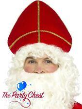 TRADITIONAL ST NICHOLAS SANTA HAT Father Christmas Papal Mitre Religious Hat