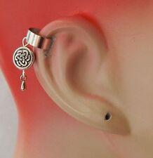 Celtic Knot Charm Drop/Dangle Ear Cuff Handmade Jewelry Silver Fashion NEW