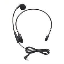 Headset Kopfbügel Mikrofon 3,5mm Klinke Top Klangqualität Ultra Leicht Konfort
