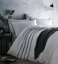 Portfolio Home - Casper White & Grey Pom Pom Embellished Duvet Cover Bedding Set