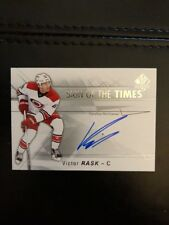 16-17 UD SP Authentic Sign Of The Times Auto #SOTT-VR Victor Rask Pack Fresh