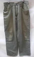Mens RUSTY Oz Surf Brand Authentic Outdoor Gear Straight leg Khaki Jeans size 34
