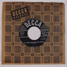 PEGGY LEE: I've Got You Under My Skin DECCA 45 Near Mint