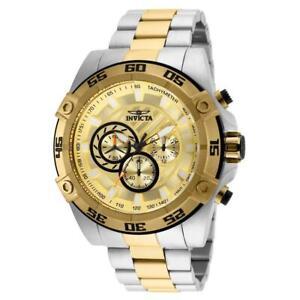 Invicta Speedway 25537 Men's Round Analog Chronograph 12 & 24 Hour Watch