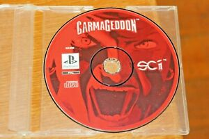CARMAGEDDON Original 1999 PS1 Playstation One Game PAL Motor Racing