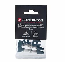 Hutchinson Tubeless Tyre Valves - Black, 42 mm