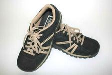 Skechers Black Suede Grand Jams Sneakers Tan Womens Size 7.5 7 1/2 Shoes