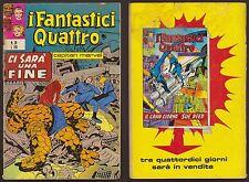 I FANTASTICI QUATTRO 38 CI SARA' UNA FINE CORNO 5/9/1972 CAPITAN MARVEL