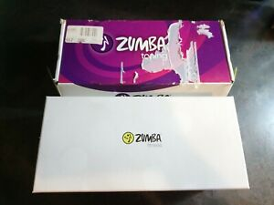 Zumba Toning Bar Black Yellow Set Of 2  Exercises Arms In Box 1lb each bar