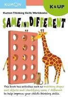 Thinking Skills Same and Different Kindergarten (Paperback book, 2017)