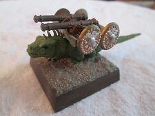 Warhammer Fantasy ~ GIANT LIZARD CANNON ~ Lizardmen Army Artillery, Painted