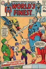 WORLD'S FINEST #190 - SUPERMAN & BATMAN TEAM-UP - 1967