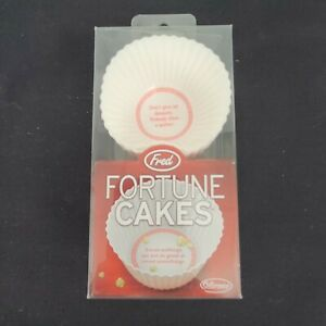 Fred Fortune Cakes Cupcake Silicone Reusable Molds Party Baking Fun Pack Of 12