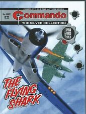 THE FLYING SHARK,COMMANDO THE SILVER COLLECTION,NO.4662,WAR COMIC,2013