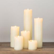 6er Set LED Echtwachskerzen Tischdeko LED Wachskerzen Batteriebetrieb LED Kerzen