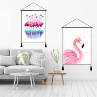 Fashion Wall Tapestry Painting Flamingo Bedroom Decor Hanging Cloth 3D Printing